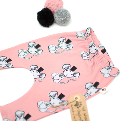Fancy Mouse Organic Harem Pants