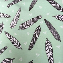 Mint Feathers Organic Pocket Skirt