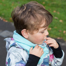 Mint Spots Reversible Loop Scarf