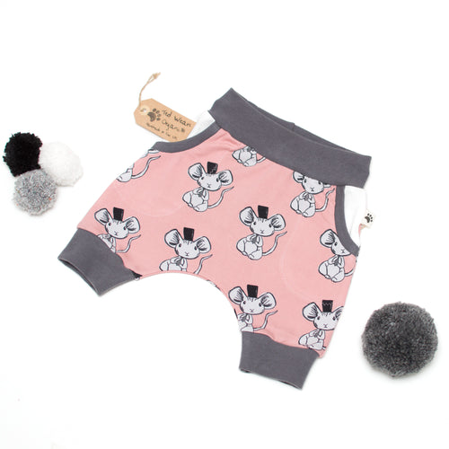 12-18m Fancy Mouse Organic Shorts