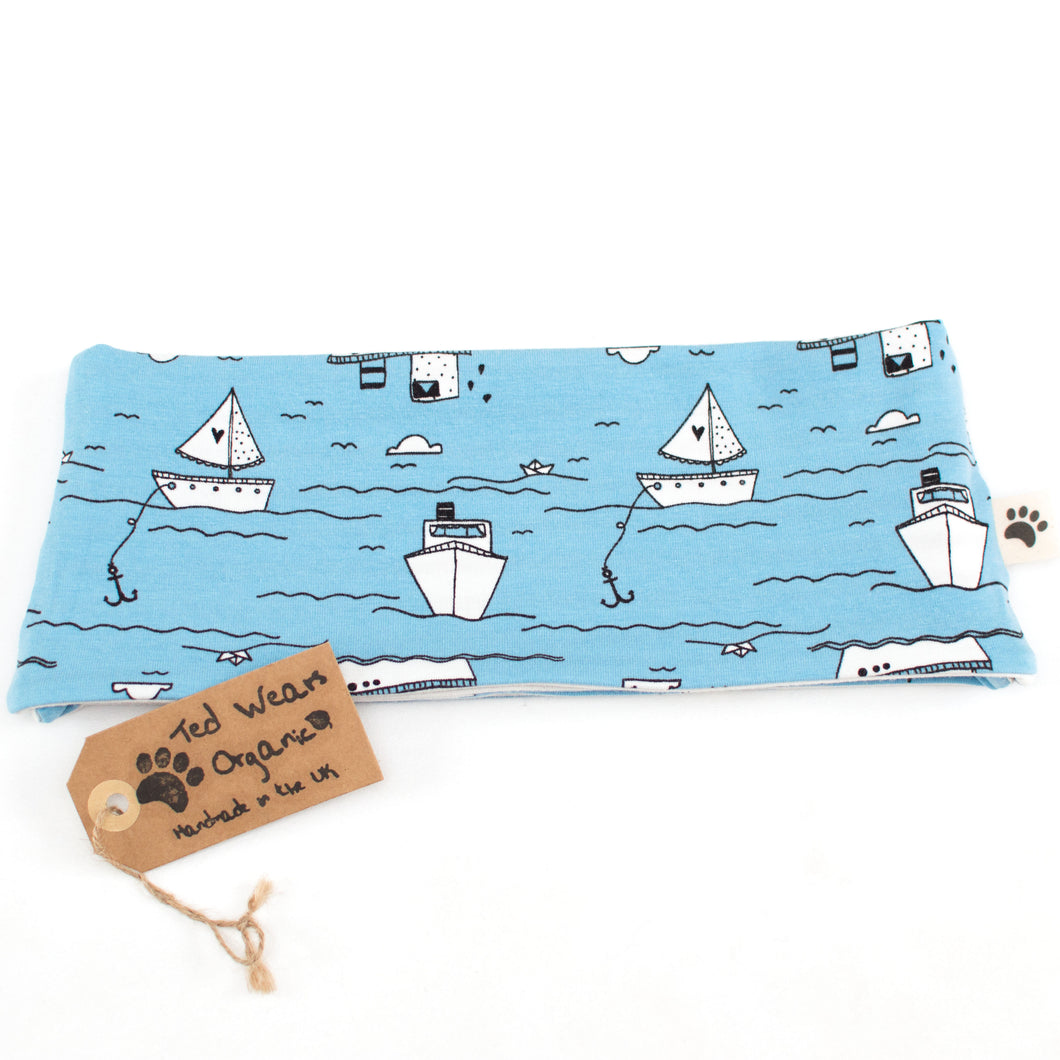 Over the Sea Reversible Loop Scarf
