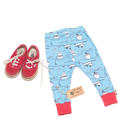 6-9m Over the Sea Organic Leggings