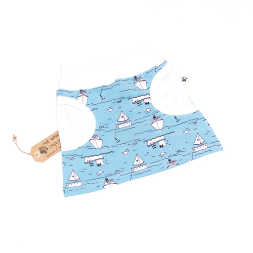 Over the Sea Organic Pocket Skirt