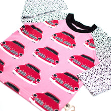 12-18m Retro Cars Organic Long Sleeve T-Shirt