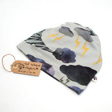 Rumbling Clouds Organic Slouchy Snap Hat
