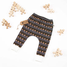 Tribal Triangles Organic COSY Harem Pants