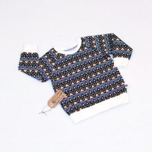 Tribal Triangles Organic Jumper