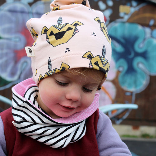 Lion Organic Slouchy Snap Hat