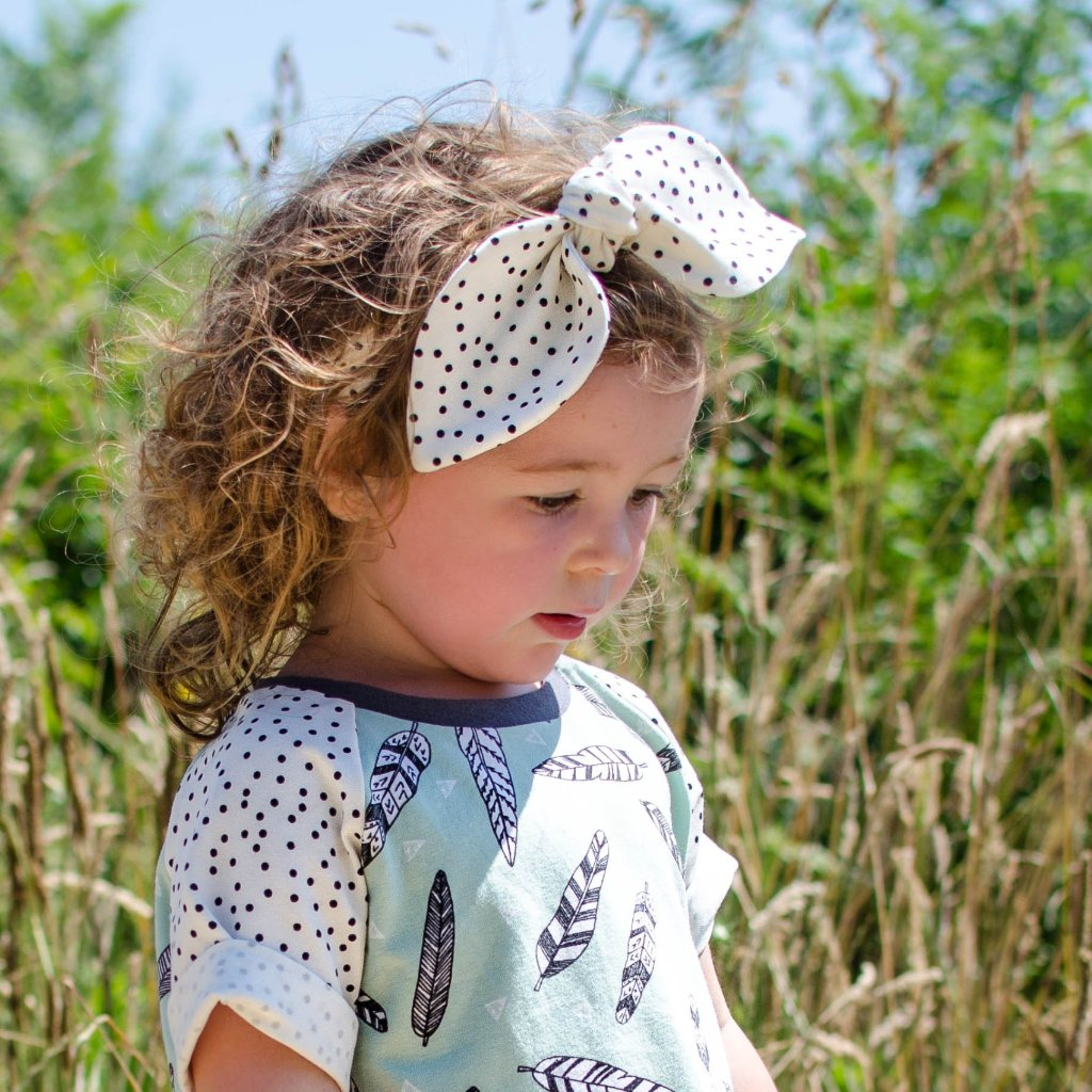 Dotty Organic Headband