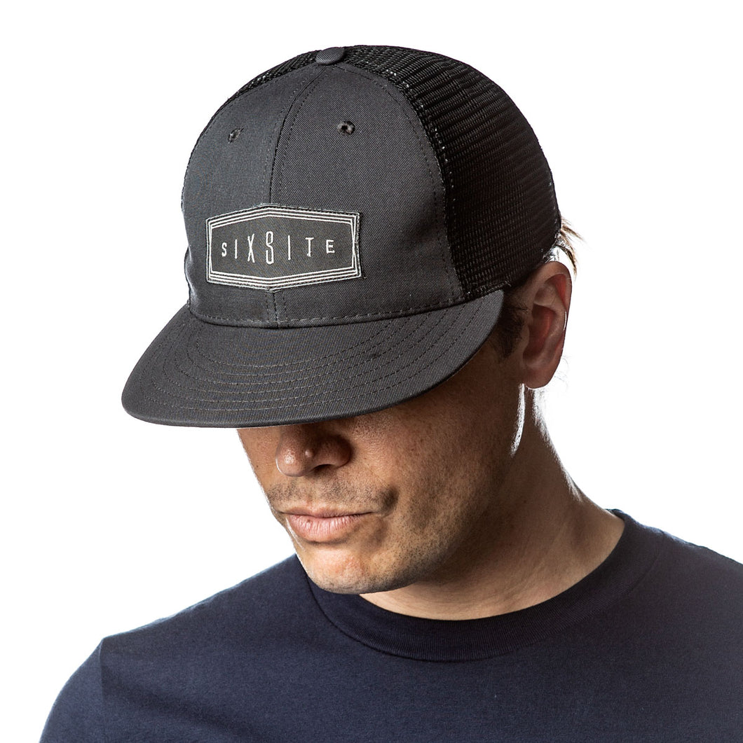 Flat Bill Cap, SIXSITE Badge