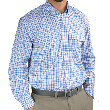 Performance Button Down, Plaid