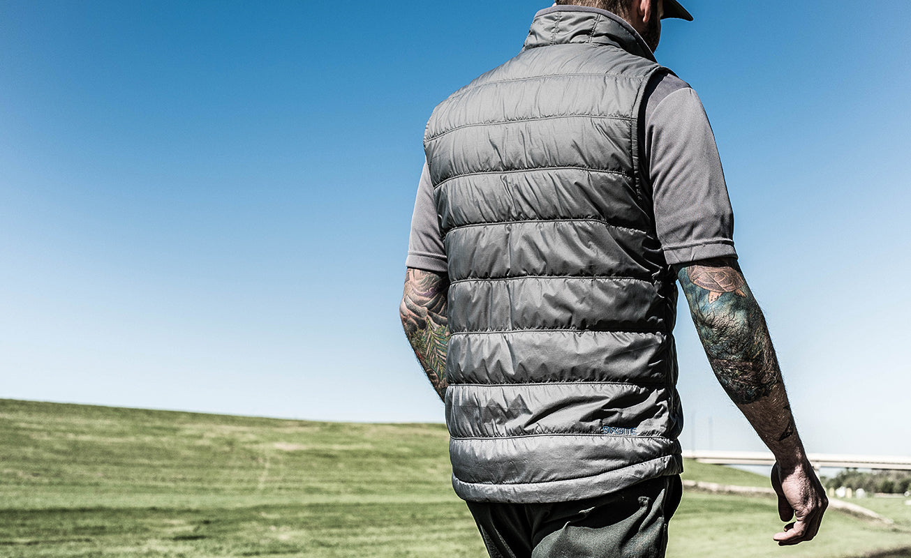 SIXSITE Nueces insulated vest is good for all outdoor activities including hunting, hiking, skiing