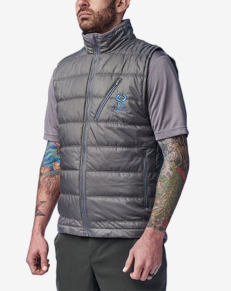 SIXSITE Nueces insulated vest made with Primaloft Gold insulation