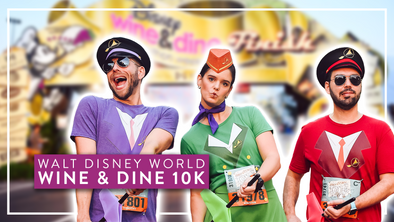 2019 WINE & DINE 10K - RACE VLOG