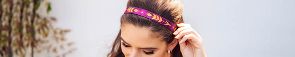 THIN ELASTIC HEADBANDS