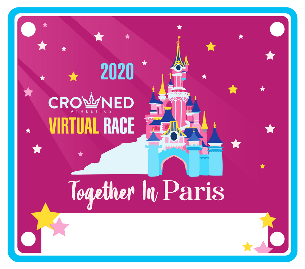 paris virtual race bib