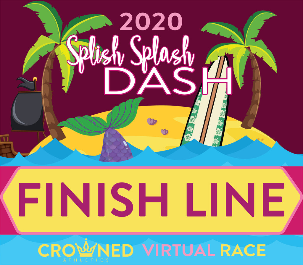 splish splash dash finish line