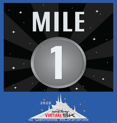 Space Mountain Mile 1
