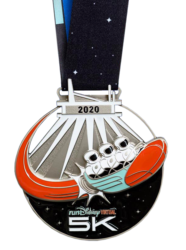 Space Mountain Medal
