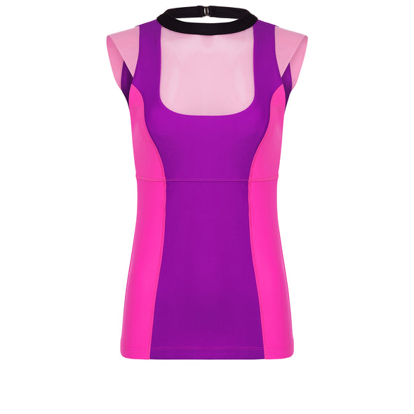 Stepsister Villain Pink Athletic Tank Top