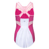 Pink Mermaid Princess Athletic Tank Top - Crowned Athletics