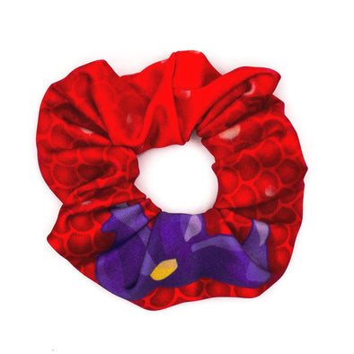 ariel little mermaid disney princess workout scrunchie
