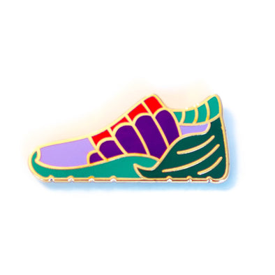 Mermaid Tale Princess Sneaker Pin - Crowned Athletics
