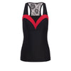 Disenchanted Rose Princess Athletic Tank Top - Dark Belle - Crowned Athletics