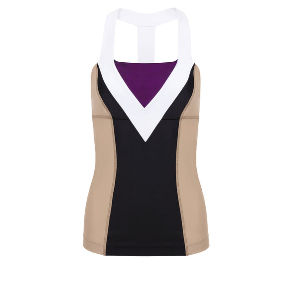 Briar Flower Princess Athletic Tank Top - Crowned Athletics