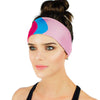 Bubblegum Wall Athletic Headband