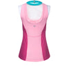Pink Ball Gown Princess Athletic Tank Top - Crowned Athletics