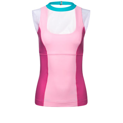 Pink Ball Gown Princess Athletic Tank Top