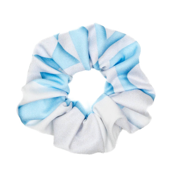 Small World Wall Athletic Scrunchie - Crowned Athletics