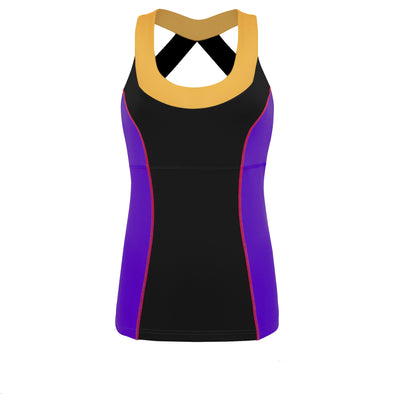 Poisoned Heart Villain Athletic Tank Top