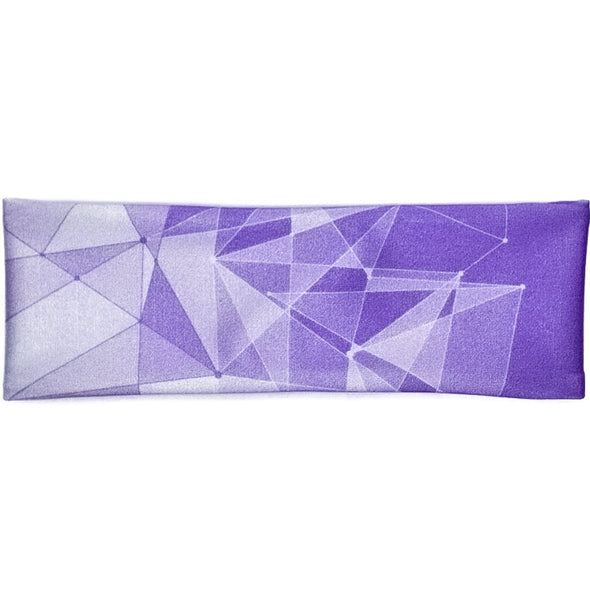 Galactic Purple Wall Athletic Headband - Crowned Athletics