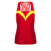 Positively Primeval Villain Athletic Tank Top - Crowned Athletics