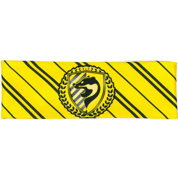 Yellow Badger House Pride Athletic Headband - Crowned Athletics