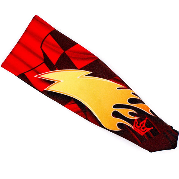 Greased Lightning Athletic Headband - Crowned Athletics