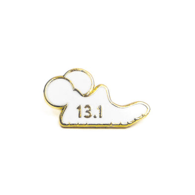 Mouse Runner Watch Charm - White - Crowned Athletics