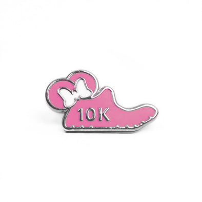 Mouse Runner Watch Charm - Pink - Crowned Athletics