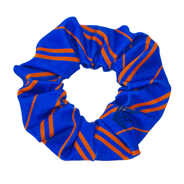 Blue Bronze House Pride Athletic Scrunchie - Crowned Athletics