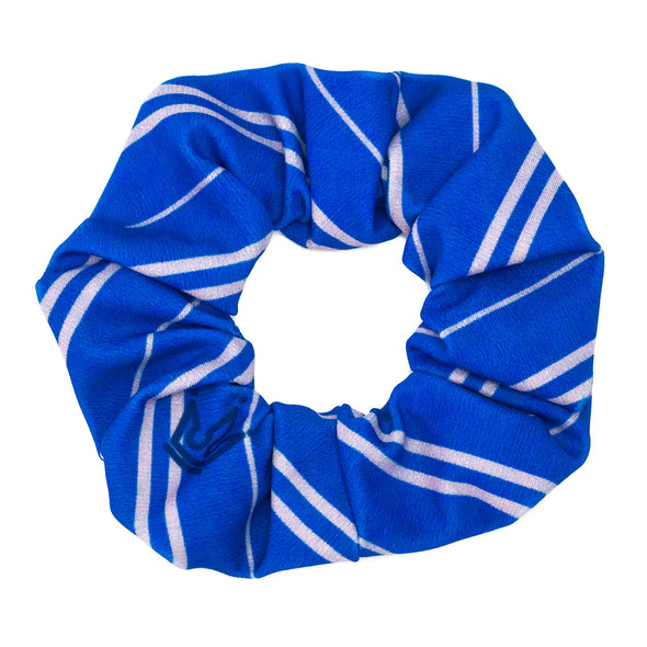 Blue Silver House Pride Athletic Scrunchie - Crowned Athletics