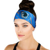 Blue Eagle House Pride Athletic Headband - Crowned Athletics
