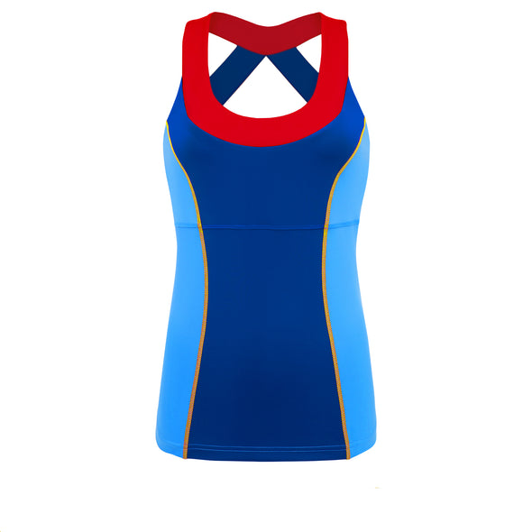 Fairest Heart Princess Athletic Tank Top
