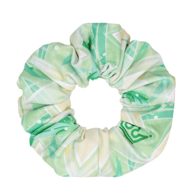 Lily Pad Princess Athletic Scrunchie