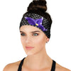 Vampire Mermaid Princess Athletic Headband - Crowned Athletics