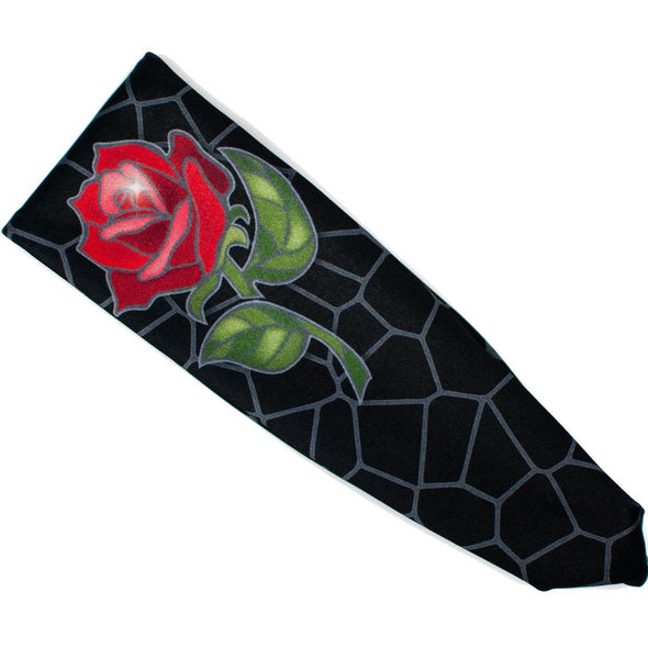 Disenchanted Rose Princess Athletic Headband - Crowned Athletics