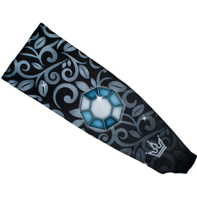 Darker Than Midnight Princess Athletic Headband - Crowned Athletics