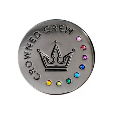 Crowned Crew Membership Pin