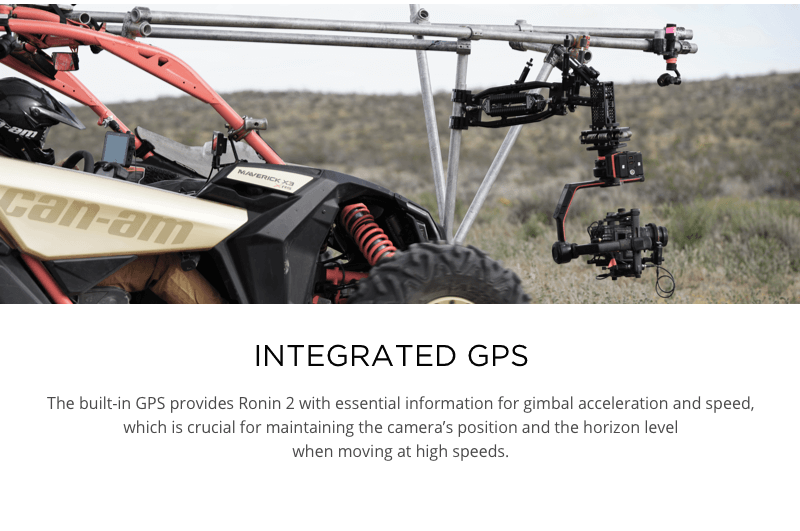Ronin 2 Professional 3-axis gimbal for Red, Arri, Sony, Canon, Blackmagic and Phantom cameras